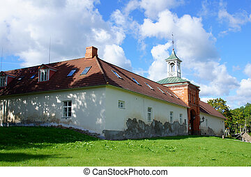Manor in the south of Estonia. Ruusmae