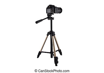 tripod for video and photo shoot with a camera - a tripod...
