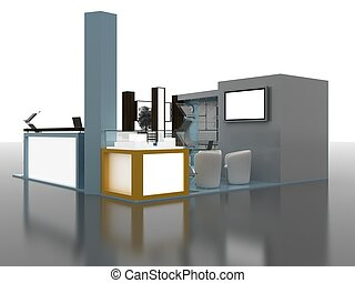 Exhibition Stand Interior/Exterior Sample - Exhibition Stand...