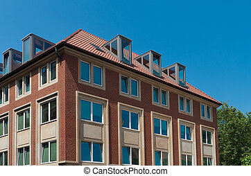 apartment building in Munster, Germany