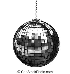 3d shiny disco ball