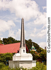 victory monument in Thailand