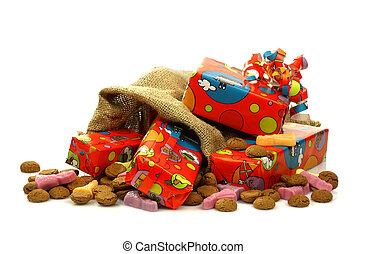 colorful quot;Sinterklaasquot;presents - colorful...