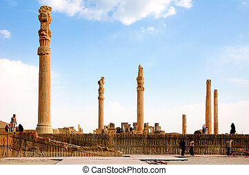 Persepolis - One of the capitals of the ancient Achaemenid...