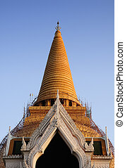 Front of stupa, Thailand