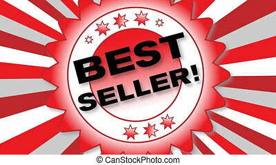 Best Seller - Animated Button - Best Seller