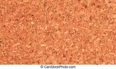 Cork board - Zoom out closeup on high detailed quality...
