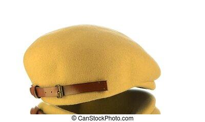 Yellow cap