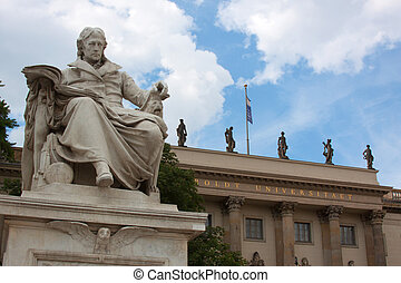 Humboldt-University in Berlin; Capital, Germany;...