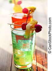Cocktails, sommer