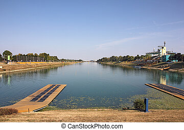 Rowing lanes