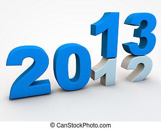 nowy, rok, wigilia, 2013