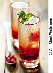 pomegranate cocktail - delicious pomegranate cocktail,...