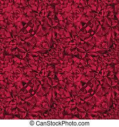 Ruby gem texture seamless pattern. - Ruby gem texture...