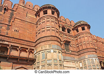 Red Fort in Agra, India
