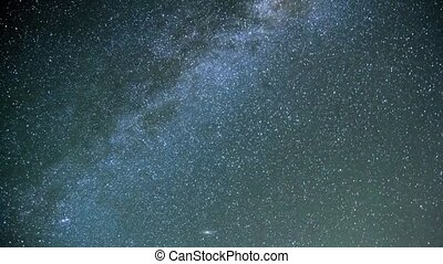 starry sky, the Milky Way