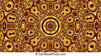 Africa - Abstract art, photo-based illustration, Africa
