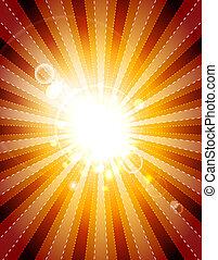 Shiny background - Abstarct shiny vector backgroun with...