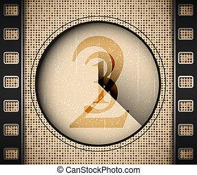 Start the film. Eps 10