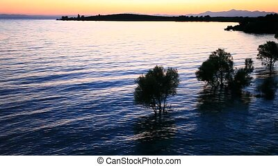 lake - beysehir lake time lapse