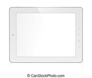 Tablet computer - 3D illustration of modern tablet computer...