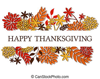 Thanksgiving Card Design - Thanksgivingseasonal design with...