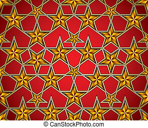 Soviet style background - Soviet style background with...