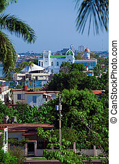 View from Palacio de Valle (1913-1917), Cienfuegos, Cuba