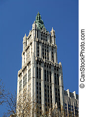 Woolworth Building in Art Deco Style in New York City