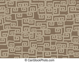 Mayan wallpaper, illustration - Mayan wallpaper, vector...
