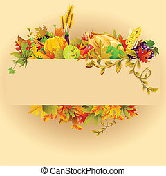 Thanksgiving Celebration - illustration of Thanksgiving...