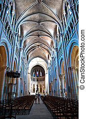 Lausanne Cathedral in Vaud Switzerland