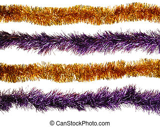 Christmas artificial tinsel decoration