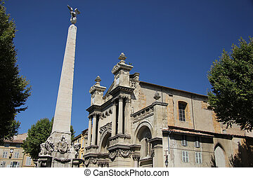 Madeleine Church in Aix-en-Provence - La Madeleine Church in...