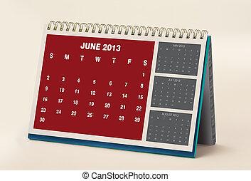 June 2013 Calendar - 2013 Calendar