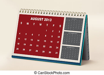 August 2013 Calendar - 2013 Calendar