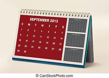 September 2013 Calendar - 2013 Calendar