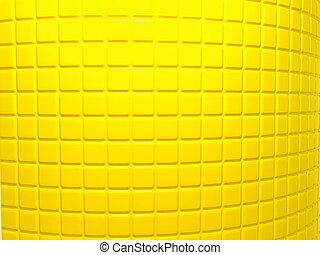 Yellow fluted pattern Useful as background
