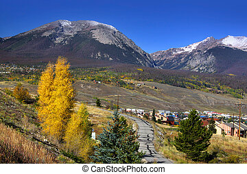 Vail Colorado - Scenic landscape near Vail Colorado