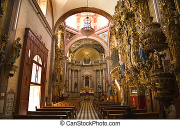 Santa Clara Church Mexico