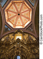 Dome Altar Church Mexico