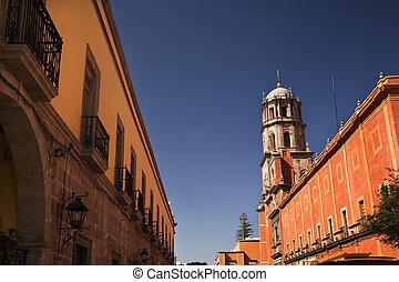 Adobe Wall Church Mexico
