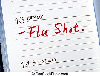 Have a flu shot