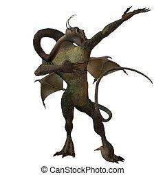 Fantasy Monster - 3D Render of an Fantasy Monster