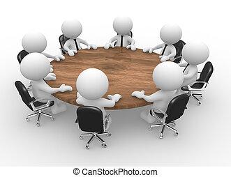 会議, テーブル