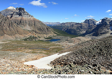 Eiffel Lake Canadian Rockies - Eiffel Lake in the Valley of...
