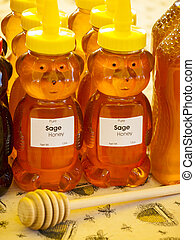 Local Honey - Local honey at the local farmers market....