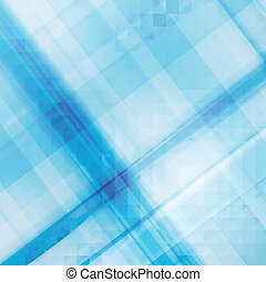 Blue checked pattern, vector