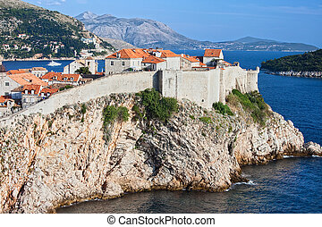 Old City of Dubrovnik in Croatia - Fortified Old City of...