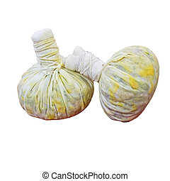 herbal compress balls for spa treatment - herbal compress...